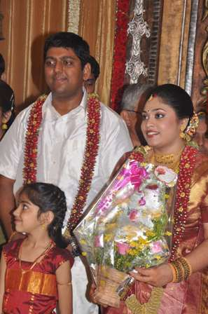 MARRIAGE OF FILM PERSONALITY SON