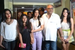 Sridevi, Boney Kapoor and daughters